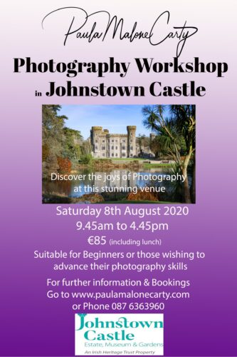 Photography Workshop at Johnstown Castle.